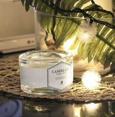 Fancy | Ohrme candle jar (gift one small candle)