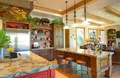 20 Enchanting Mediterranean Kitchen Decors