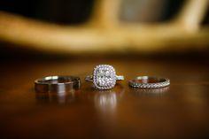 #Engagement Ring | See the wedding on #SMP Weddings: http://www.stylemepretty.com/illinois-weddings/wheaton/2013/12/11/cantigny-park-wedding Kina Wicks Photography