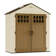 The Suncast Garden Sheds provide perfect storage solutions for the overflow of household and outdoor items as well as garden tending equipment. They are made of weather resistant, durable, high impact Polypropylene Resin which includes a special UV Sun Pr Suncast Storage Shed, Garden Storage Shed, Garden Sheds, Keter Sheds, Sheds Direct, Plastic Sheds, Cheap Sheds, Lean To Shed, Bike Shed