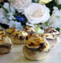 Christina's Cucina: Bacon and Cream Cheese Filled Mushrooms