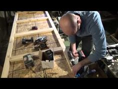 Freestanding Workbench With POWER!
