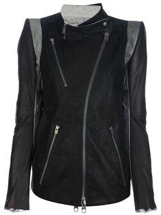 IF SIX WAS NINE - kangaroo leather biker jacket 7