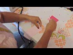 Flor de tecido -tissue's Flowers - DIY- pap-tutorial - YouTube