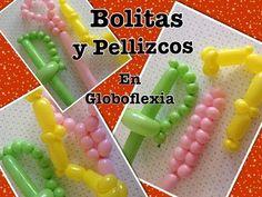 COMO HACER LOS PELLIZCOS Y BURBUJAS CONTINUAS PARA HACER FIGURAS DE GLOBOFLEXIA - YouTube