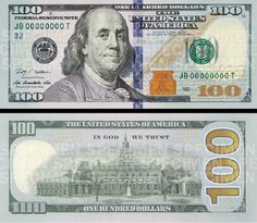 photograph regarding Printable 100 Dollar Bill Actual Size titled muney
