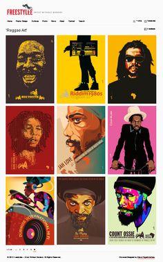 30 Amazing Reggae Poster Art