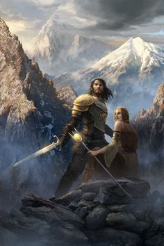 cover art by Shen Fei for new fantasy novel The Eye of Everfell by Bard Constantine.