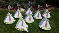 Elegant Kindergeburtstag, Einladung Zum Zelten