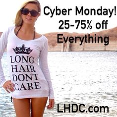 Starts now! Hurry over to www.LHDC.com where we're practically giving stuff away!!