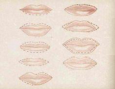 Delineado de labios dependiendo el tipo de labios q tengas!!! Lip Types, Lips, Make Up, Lip Care, Beauty, Getting To Know, Beauty Makeup, Makeup, Maquiagem