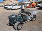 2009 Club Car Carryall Turf 252 Industrial Utility Golf Cart Gas Manual Dump Bed