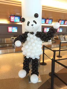 Panda Balloon Centerpieces, Balloon Decorations, Birthday Party Decorations, Panda Birthday Party, Girls 3rd Birthday, Panda Day, Panda Love, Panda Baby Showers, Panda Decorations