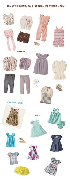 What to Wear Fall Baby Session Oh So Savvy Photography