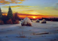 distese Village. Artista Sergey Kuritsyn .. Discussione sulla LiveInternet…