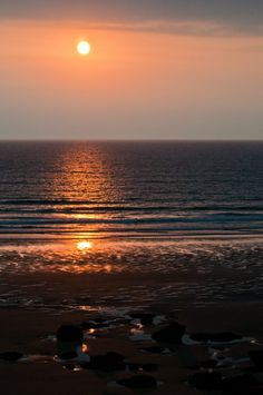 A usual Watergate Bay sunset!