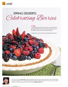 Spring Desserts - Mar/Apr 2013