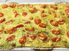 Vegetarischer Flammkuchen: Für einmal ganz ohne Speck Pizza, Pepperoni, Food, Vegetarische Rezepte, Cooking, Simple, Eten, Meals, Diet