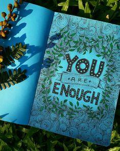 Grow🌿  #newseries #typography #grow #blue #youareenough #illustration #inspirtional #illustration_best #illustratorsofinstagram…