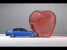 Super Slow Motion Bullet Photography Recreated Using a BMW M5