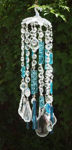 Crystal Palace suncatcher/windchime