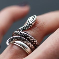 Poisonous Moon Ring by Shop Dixi