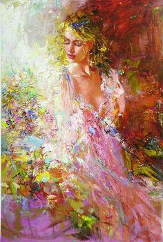 Misti Pavlov Awakening Beauty painting