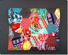 Lorena's Patchwork & Quilting Notes- iPad case