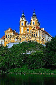 Melk Nieder Österreich, Melk Abbey, Austria