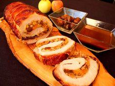 Cocinando con Lola García: Lomo relleno de manzana y setas