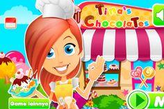 Game Permainan Memasak - Tina's Chocolates Cafe. Ayo bersiap melayani semua pesanan pengunjung yang datang. Bisakah kamu melakukannya ?