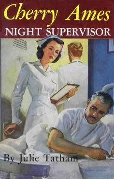 Cherry Ames Night Supervisor (Cherry Ames #11). Julie Tatham. Illustrated by Frank Vaughn. Grossett and Dunlap, 1950. First edition. Original dust jacket. Cherry's new post as the night supervisor at a small, financially strapped hospital brings her into conflict with a prominent patient.