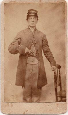 Albert C. Harbaugh, Co. D, 6th Maryland Infantry. KIA at The Wilderness.