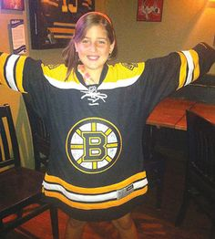 An Ontario dad wanted to buy this signed jersey to cheer up his 11-year-old daughter (and Bruins fan) Trista, who had been experiencing bullying at school.  At the charity auction, he soon realized he would not be able to afford it. In stepped the Colorado Avalanche's Matt Duchene, who promised to cover the cost. (And it wasn't even an Avs jersey!) He did, even when the bidding went up to $2,000. That's a birthday present to remember. (And, as the news reports, he's got himself a new fan).