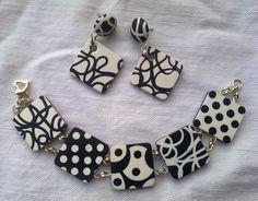 Orecchini e braccialetto by TitSorcière, via Flickr.