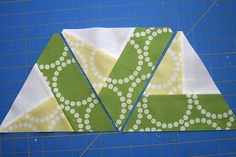 Great tips for how to properly line up and acurately piece equilateral (60 degree) triangles! The possibilties are endless with thousands of fabrics to choose from at the Fabric Shack at http://www.fabricshack.com/cgi-bin/Store/store.cgi Repined: Piecing equilateral triangles