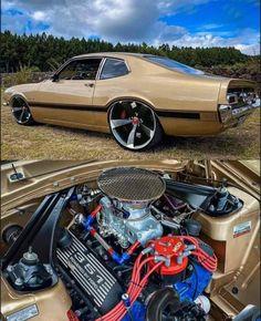 Custom Ford Trucks, Custom Cars, Mustang Cars, Ford Mustang, Donk Cars, Car Man Cave, Ford Maverick, Chevy Muscle Cars, Bad Azz