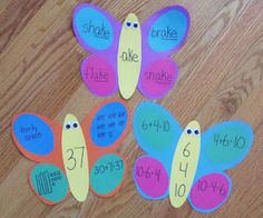 Spring Fever Butterflies.. to help you practice many skills!  Freebie!