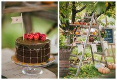 Őszi desszertasztal - Esküvői dekor tippek | Secret Stories