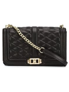 REBECCA MINKOFF QUILTED CROSS BODY BAG. #rebeccaminkoff #bags #leather Leather Purses, Leather Crossbody, Leather Handbags, Crossbody Bags, Crossbody Shoulder Bag, Leather Shoulder Bag, Quilted Shoulder Bags, Quilted Leather, Black Cross Body Bag