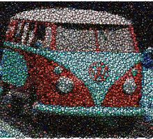 Shop unique Vw Classic Posters on Redbubble. Bottle Top Art, Bottle Cap Table, Bottle Caps, Beer Bottle, Beer Cap Crafts, Bottle Cap Crafts, Beer Cap Art, Beer Caps, Recycled Art Projects