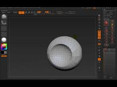 zbrush dynamesh boolean subtraction - YouTube