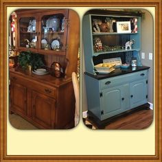 If furniture piece is not available, use cabinet section plus odd sets of shelving-this type of thing finished can sell for $1500-$2000 retail