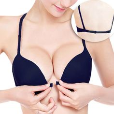 3835038766 Women s Underwear Sexy Seamless Push Up Bra Has Rims Cup Brassiere 10 Color  Selectable Backless Bra Sutia Check it out!
