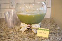Punch for Monkey Themed Baby Shower