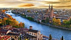 HD wallpaper: Verona And Adige River From The Bird's Eye View Beautiful City Landscape Of Italy Wallpaper Hd City Wallpaper, City Landscape, Most Beautiful Cities, Simply Beautiful, Wonderful Places, Beautiful Things, City Buildings, Amalfi Coast, Italy Travel