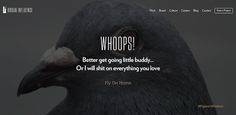 A Tumblr Blog Featuring Creative 404 Webpages