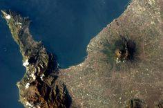 El Vesuvio en Italia