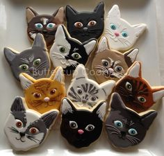cat cookies                                                                                                                                                                                 More
