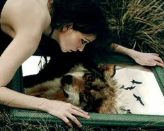"""""""There is a wolf within you, child,"""" the woman said, watching me with approval. """"You and the wolf are one. Story Inspiration, Writing Inspiration, Character Inspiration, She Wolf, Wolf Girl, Wolf Spirit, Spirit Animal, Spirit Soul, Wicca"""